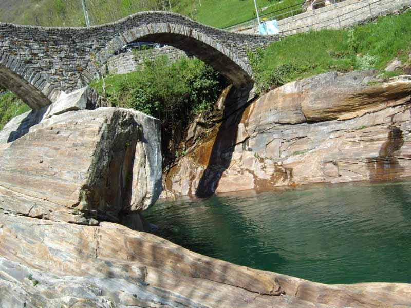 Brücke über Bach symbolisiert den Weg der Kinesiologie